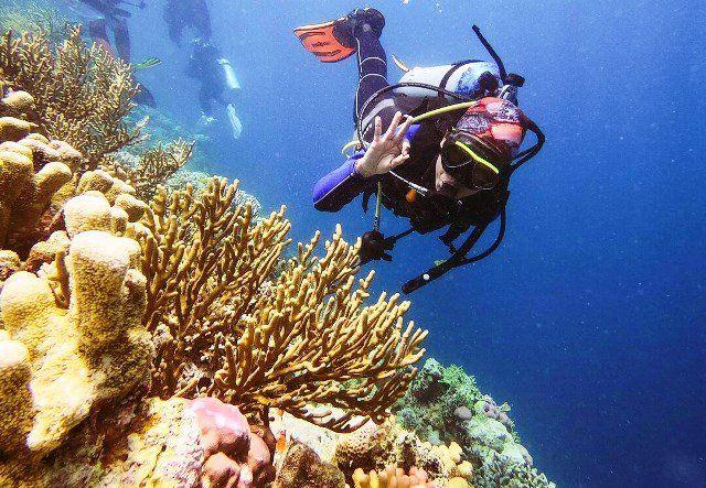 Keindahan bawah laut Takabonerate.