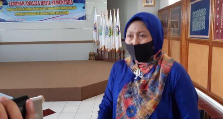Epidemiolog Universitas Jambi yang juga tim pakar satgas penanganan Covid-19 Provinsi Jambi Dr.Ummi Kalsum