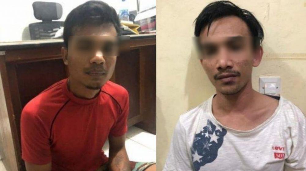 Dua tersangka yang merupakan Spesialis Curanmor dan Penadah diamankan oleh Tim Sultan Satreskrim Polres Tebo.