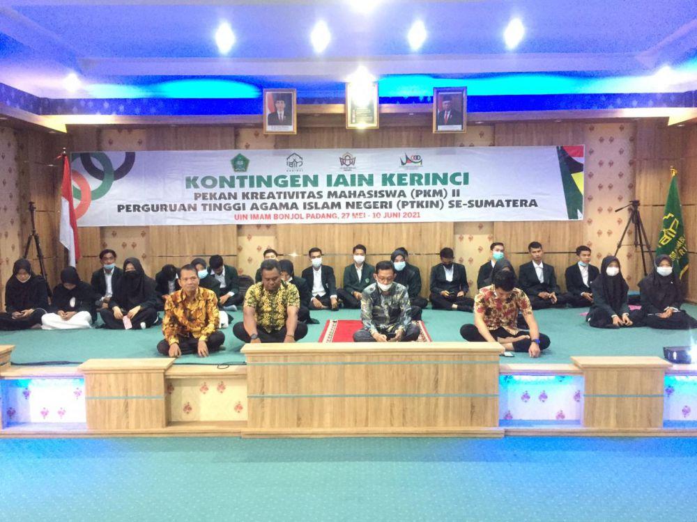 37 Atlet IAIN Kerinci Dikirim Pada Pekan Kreatifitas Mahasiswa di UIN Imam Bonjol.