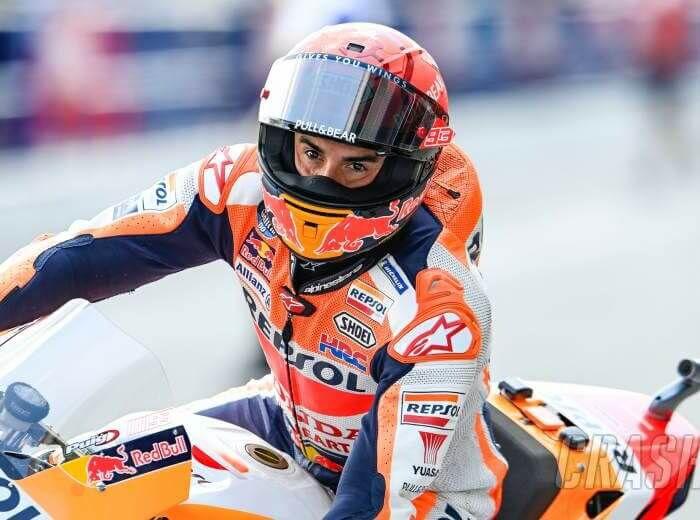 Marc Marquez/Crash