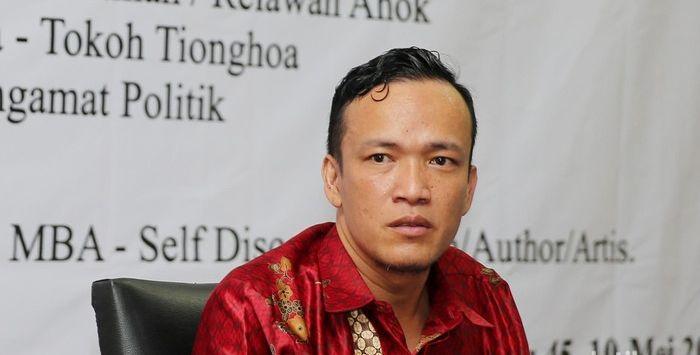 Ketua Umum Jokowi Mania (Joman) Emmanuel Ebenezer