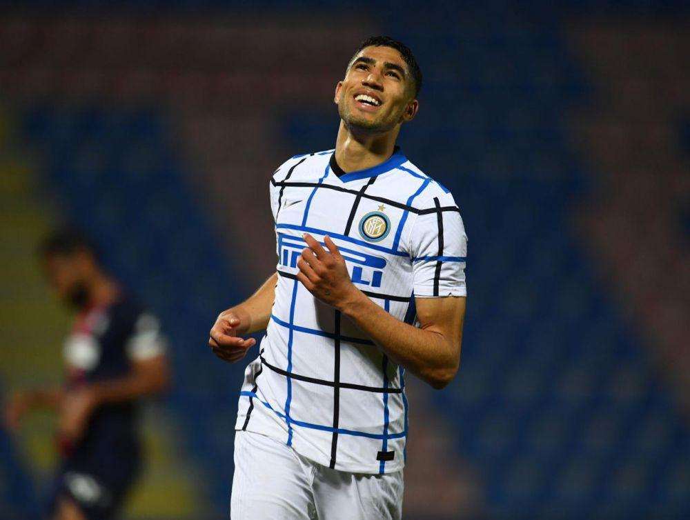 Pemain Inter Milan, Achraf Hakimi. (Inter Milan)
