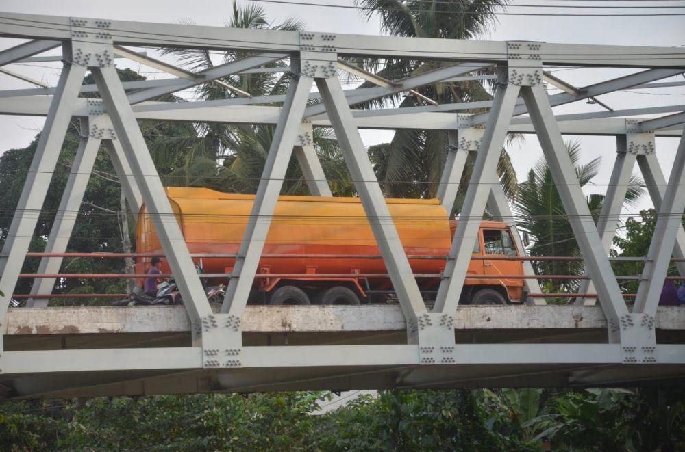 Rehabilitasi Jembatan Kumpeh.