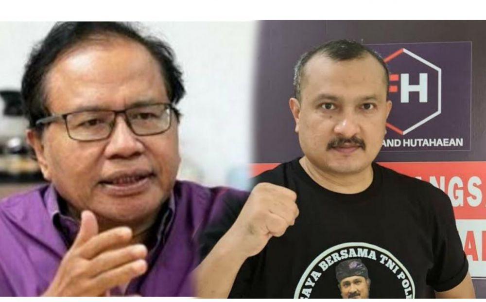 Rizal Ramli dan Ferdinand Hutahaean (Ist)