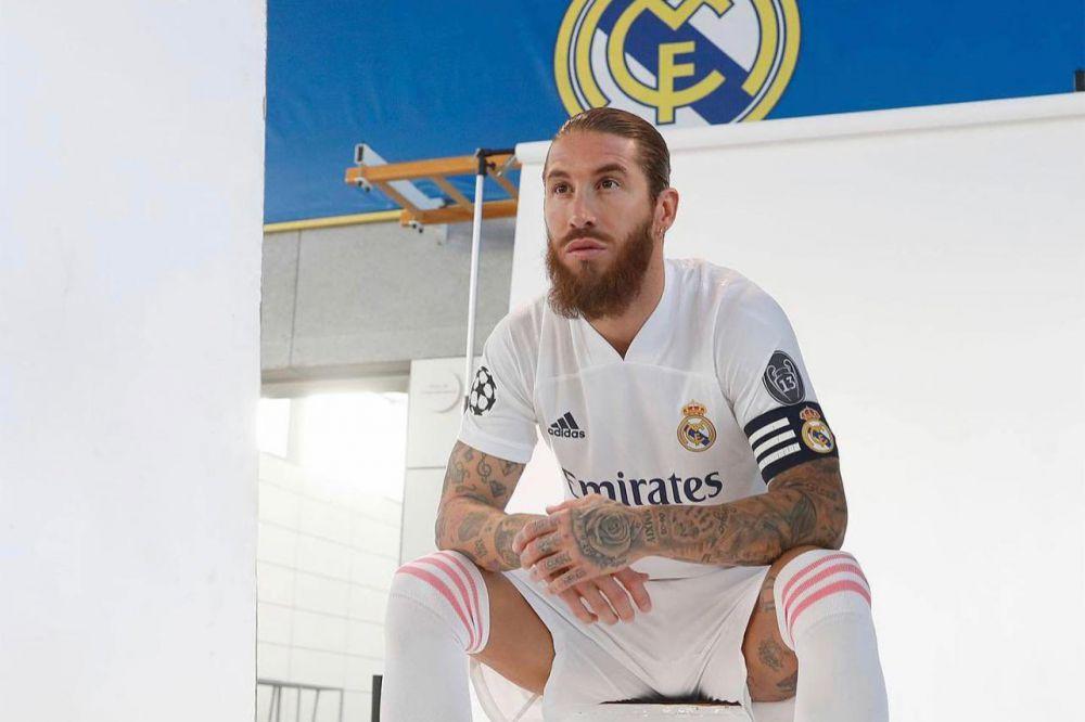 Pemain Real Madrid, Sergio Ramos. (Real Madrid)