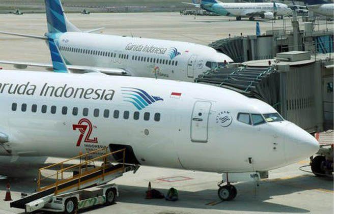 Ilustrasi maskapai penerbangan Garuda Indonesia