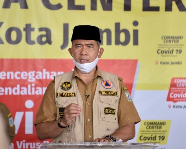Walikota Jambi Sy Fasha.