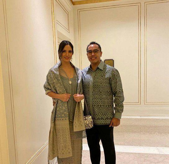 Ardi Bakrie bersama istrinya Nia Ramadhani.(IST)