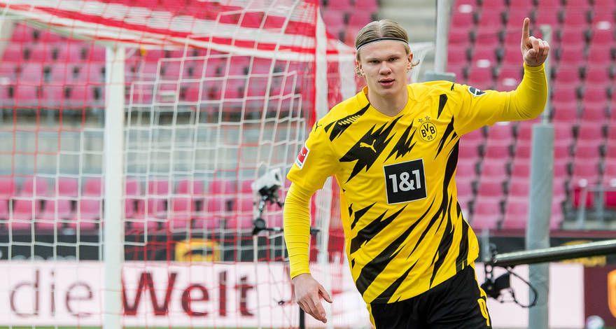 Striker Dortmund, Erling Haaland. (Situs Dortmund)