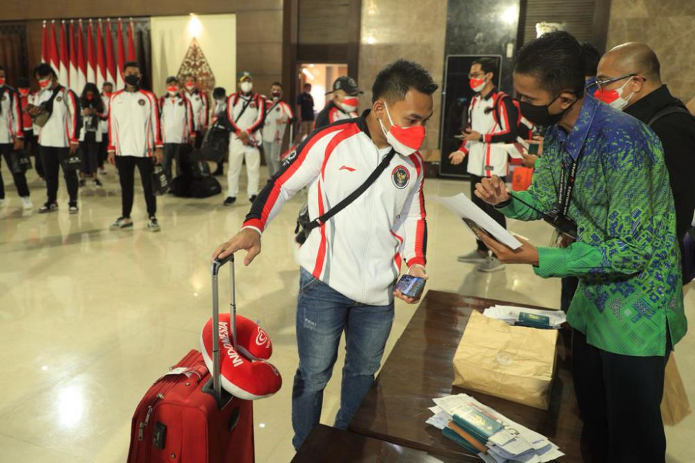 Kontingen Indonesia Bertolak ke Tokyo.