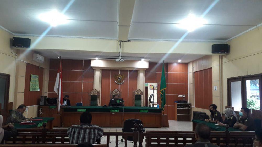 Gugatan Praperadilan Subhi Ditolak Hakim.