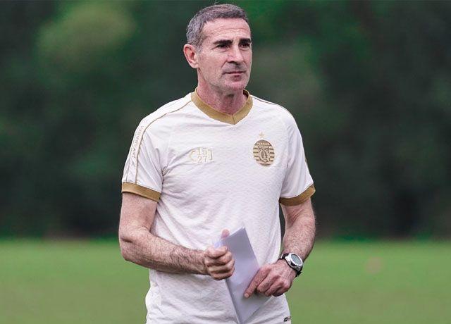 Pelatih Persija Jakarta, Angelo Alessio. (Persija)