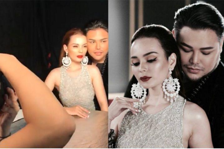 Ivan Gunawan dan Model Yesenia Green