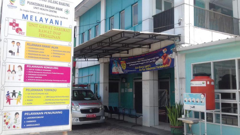 Puskesmas Talang Bakung yang akan dibangun atau ditingkatkan statusnya menjadi rumah sakit tipe C.