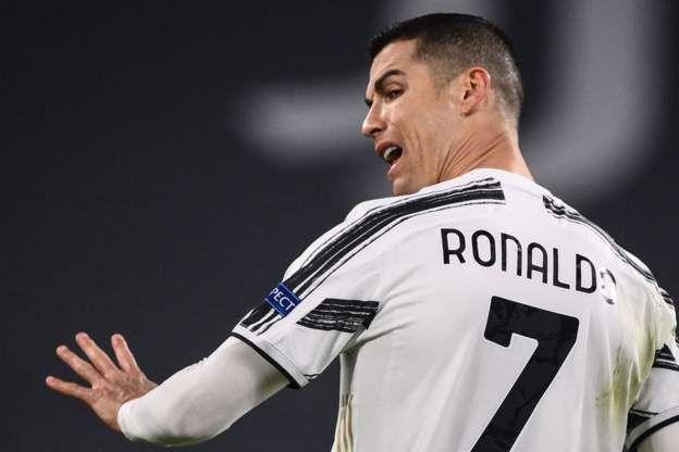 Cristiano Ronaldo/Getty Images via BBC Live