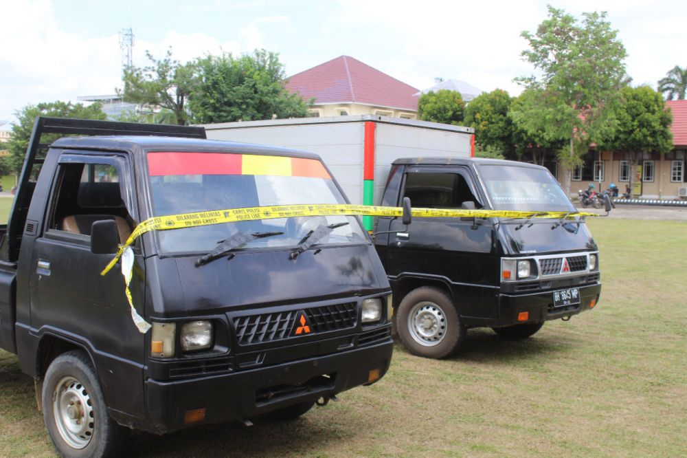 Unit Reskrim Polsek Jambi Selatan Ungkap Kasus Spesialis Pencurian Mobil.