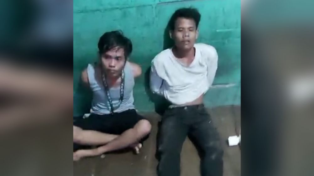 Dua pengedar sabu yang berhasil diamankan oleh BNNP Jambi di Bungo.