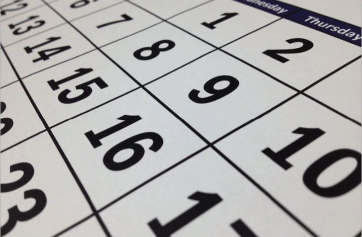 Ilustrasi kalender hari libur. (Istimewa)
