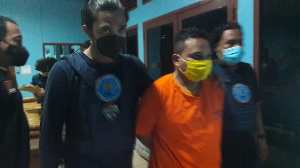 Kurir Ganja seberat 45 Kg yang ditangkap di daerah Bungo saat ini masih mendekam di sel tahanan BNNP Jambi dan diancam penjara seumur hidup
