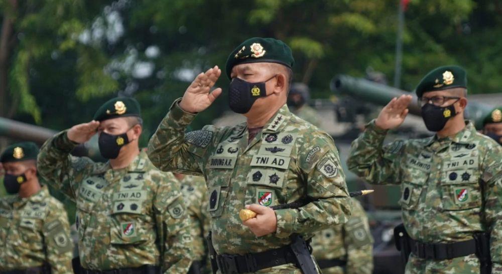 Pangkostrad Letjen TNI Dudung Abdurrachman
